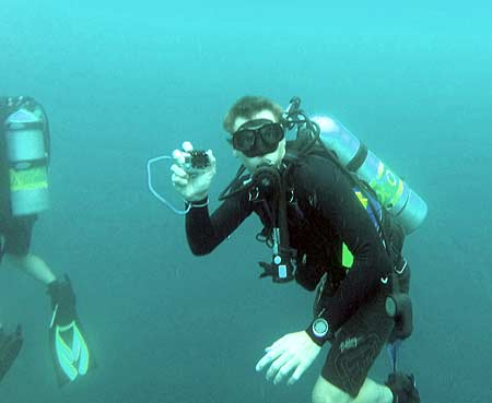 using a gopro in palau during bentprop expeditions palau