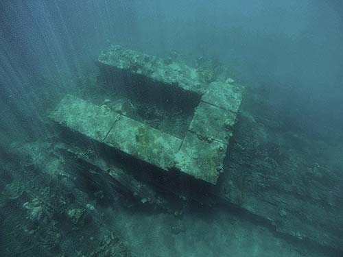 sunk wwII japanese boats