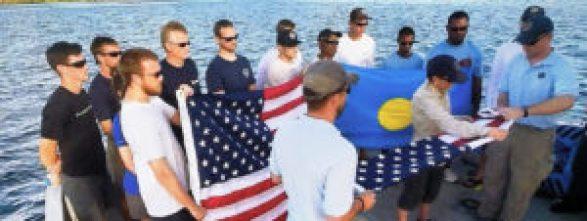 Flag Ceremony - Palau