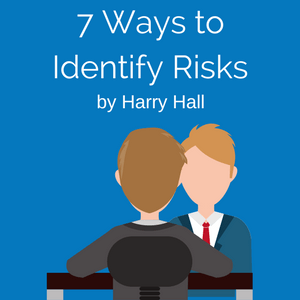 one person interviewing another person to identify risks