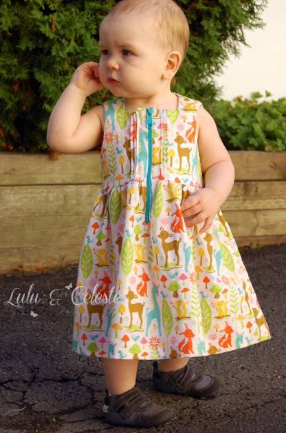 All Spice Dress by Paisley Roots for Project Run & Play