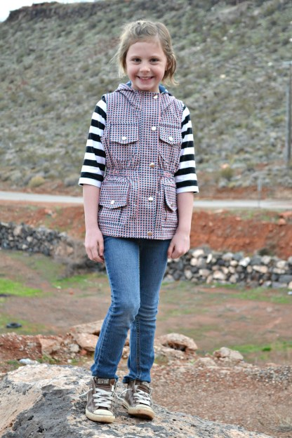 Thyme Vest by Paisley Roots for Project Run & Play
