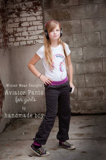 Aviator Pants by Winter Wear Designs for Project Run & Play