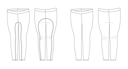 Dressage Leggings by Jennuine Design for Project Run & Play