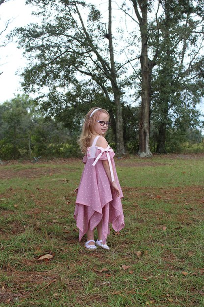 Amaryllis Dress by Phat Quarters for Project Run & Play