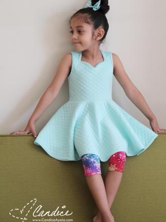 The Spirited Dress and Underpants pattern by Candice Ayala for Project Run & Play