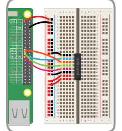physical computing with python analogue inputs raspberry pi projects wiring pi mcp3008 [ 1000 x 1100 Pixel ]