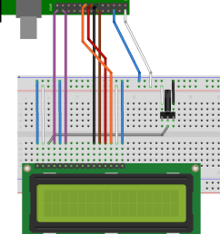 lcd connected to pi in 4 bit mode [ 1048 x 1420 Pixel ]