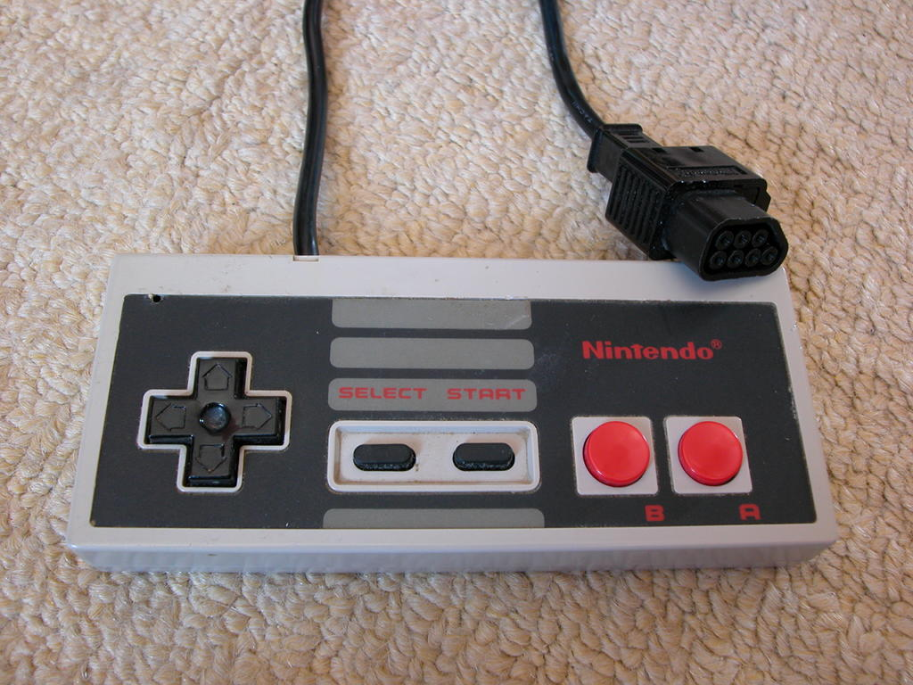 hight resolution of nes controller on the raspberry pi