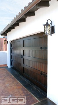 Carriage Style Garage Doors Handcrafted in a Spanish ...