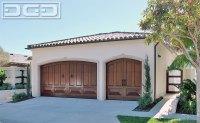 Corona del Mar, CA Custom Mediterranean Garage Doors ...