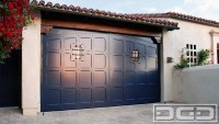 Spanish Colonial Carriage Doors, Real Out-Swing Garage ...