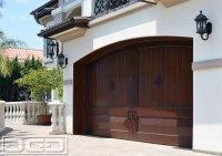 Custom Wood Garage Doors in Authentic Mediterranean ...