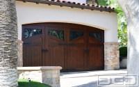 Orange County French Mediterranean Garage Door ...