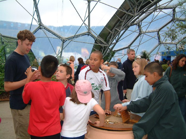 Education at the Eden project