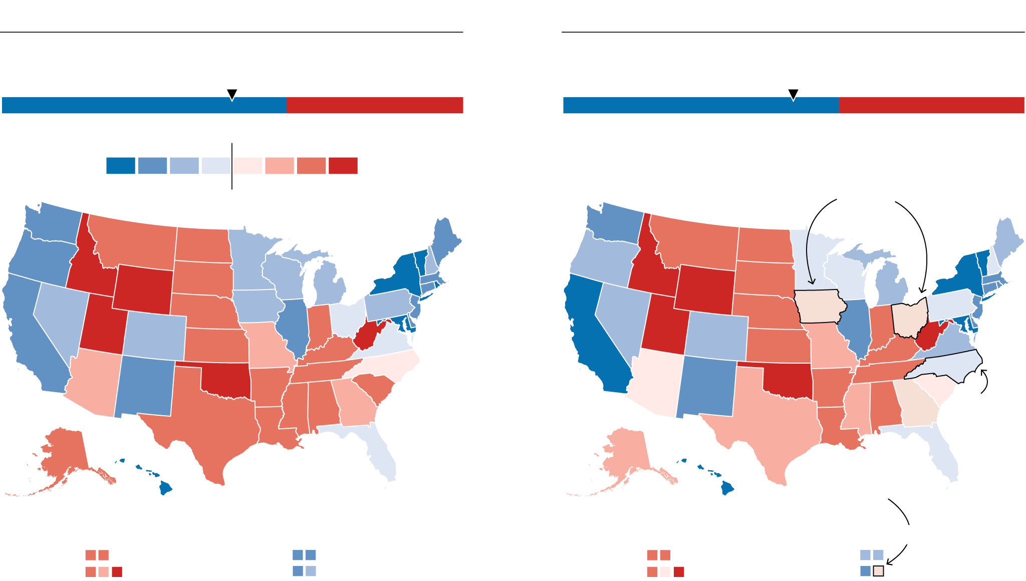 Where Do Clinton And Trump Have The Most Upside Fivethirtyeight