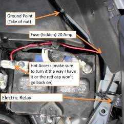 Led Light Bar Wiring Diagram With Relay Honda Fit Ecu How To Install An On A 2014 43 Subaru Forester
