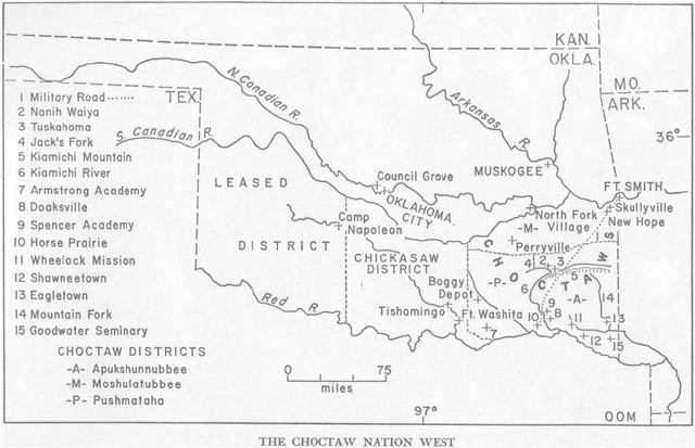 Choctaw Tribe · Manifest Destiny and Native American
