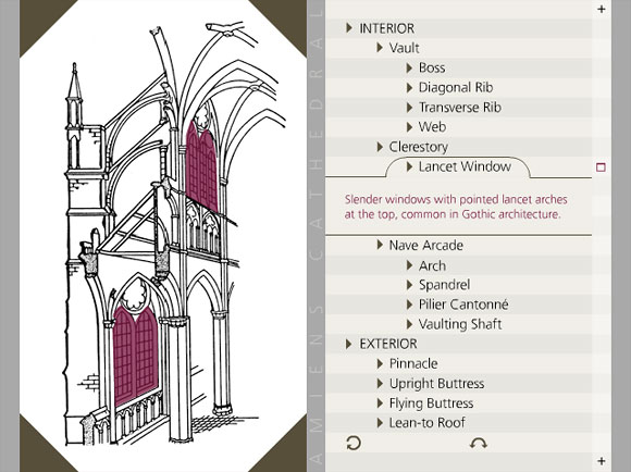 cathedral architecture gothic arches diagram marine alternator wiring manual medieval real virtual columbia university in the amiens animated gloassary