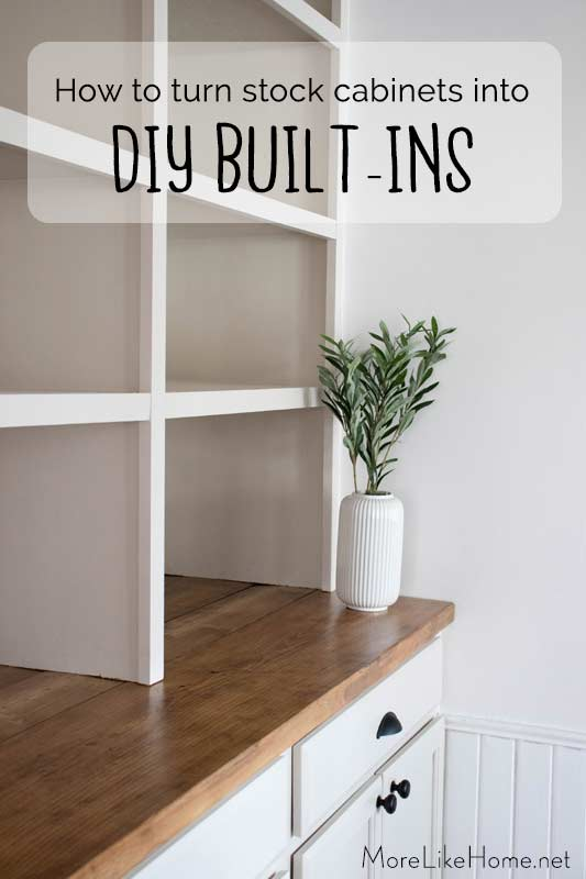 Building Wall Cabinets : building, cabinets, Home:, Stock, Cabinets, Built-In's