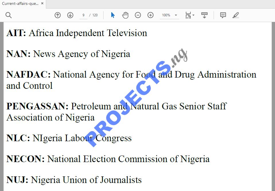 The Nigerian Constitution Pdf