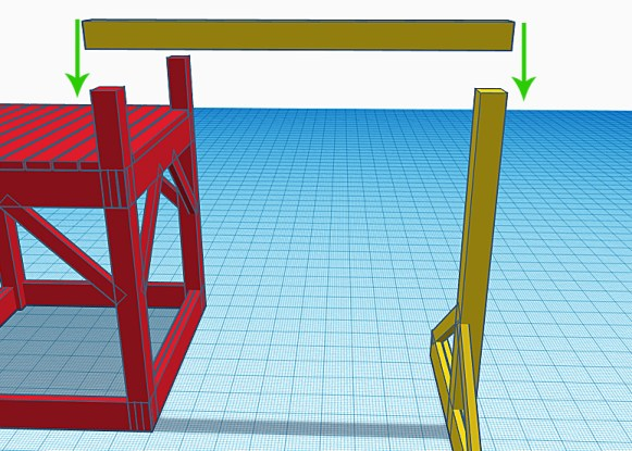 How to add a 6x6 support beam to a playground