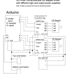 wiring diagram stepper drive with different logic and output power supplies [ 1100 x 1314 Pixel ]
