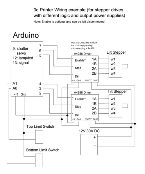 small resolution of wiring diagram stepper drive with different logic and output power supplies
