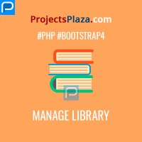 library management software in php