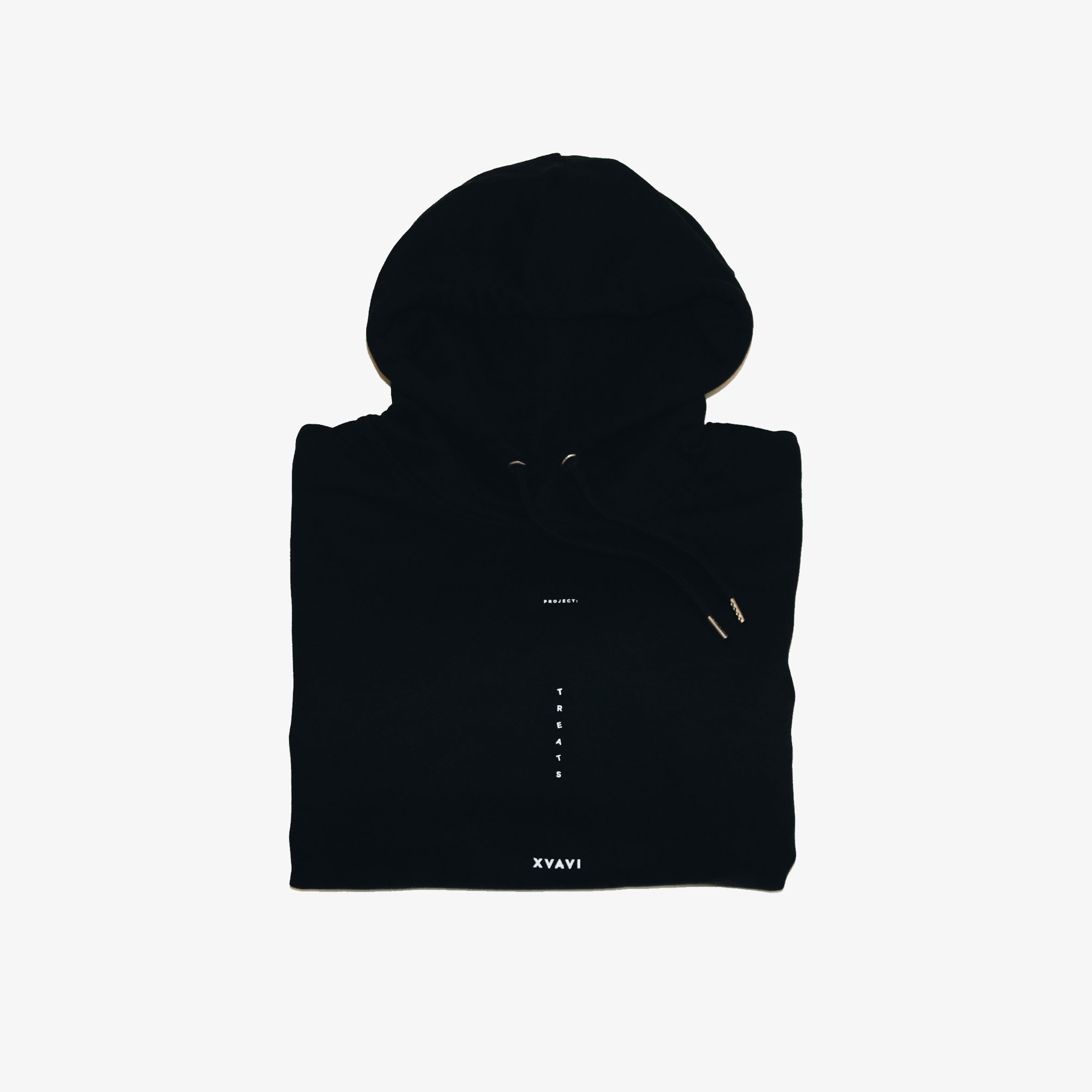 Project: Treats Black Hoodie by Xvavi®