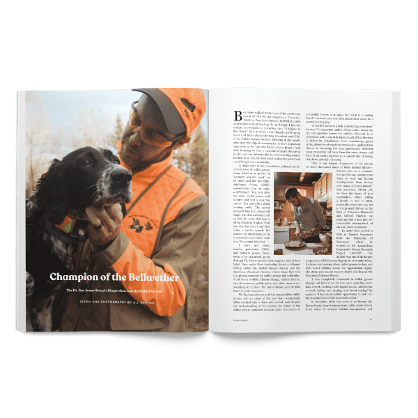 Spring 2020 Project Upland Magazine Ben Jones Ruffed Grouse Society
