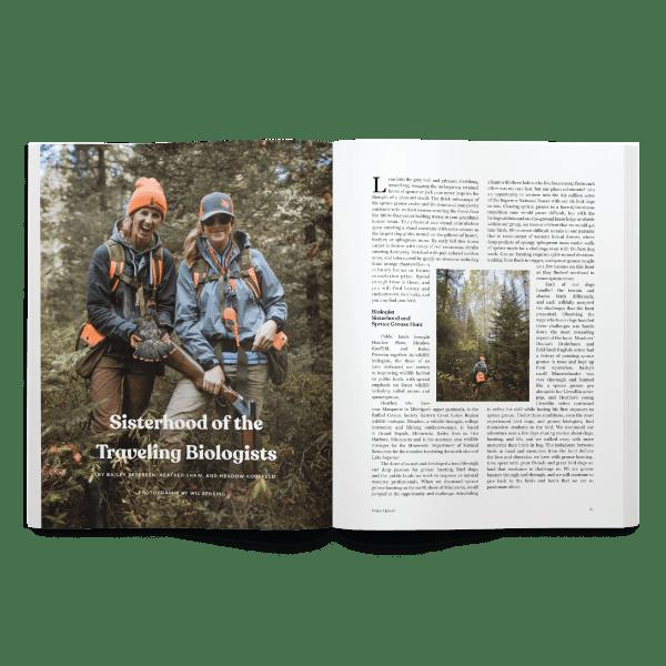 Spring 2020 Project Upland Magazine spruce grouse story