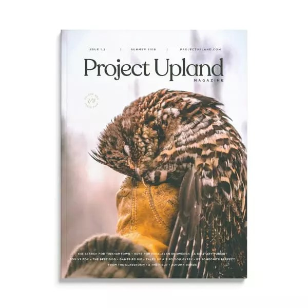 Project Upland Magazine Volume One Issue Two Cover