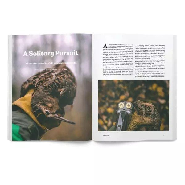 A Solitary Pursuit - Project upland Magazine