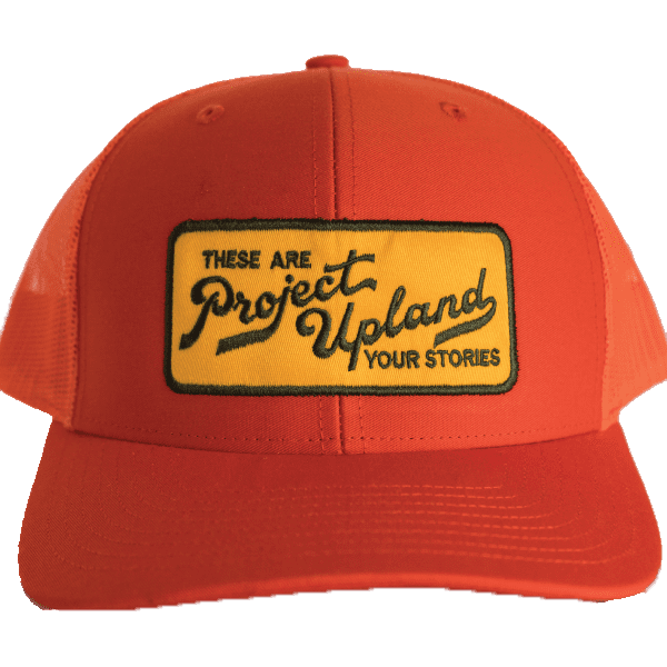 Blaze Orange Project Upland Hat with Yellow Patch