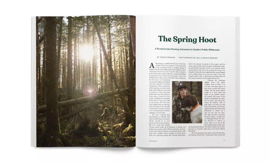 An Open spread at the Spring Hoot article
