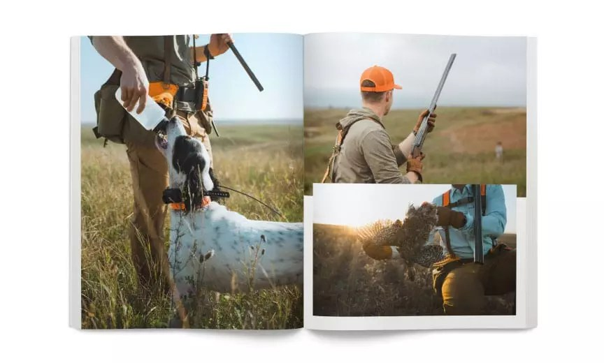 Hunting sharp-tailed grouse on public lands.