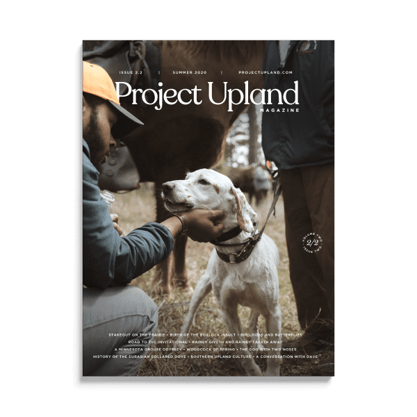 Cover of the Summer 2020 Issue of Project Upland Magazine featuring Durrell Smith