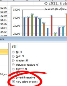When you have  great big excel column chart also multi color charts projectwoman rh