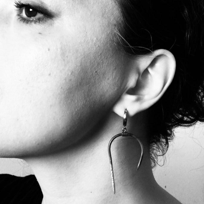 Brutalist earrings