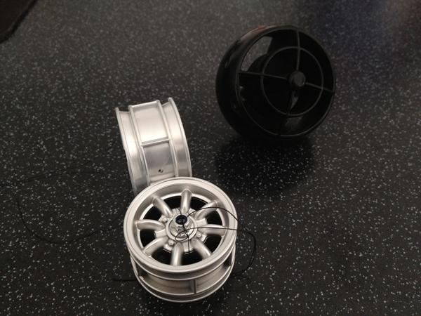 Ausgangsmaterial Minilite-Felge
