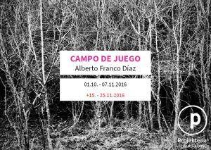 Projekteria - Alberto Franco Díaz - Campo de juego
