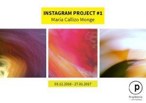 Projekteria - María Callizo Monge - Instagram Project #1