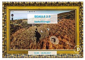"""Projekteria """"Beagle 2.0"""" photography exhibition by Sasha R Gregor"""