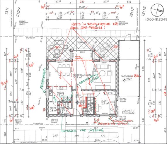 Erdgeschoss im Plancheck Version 2