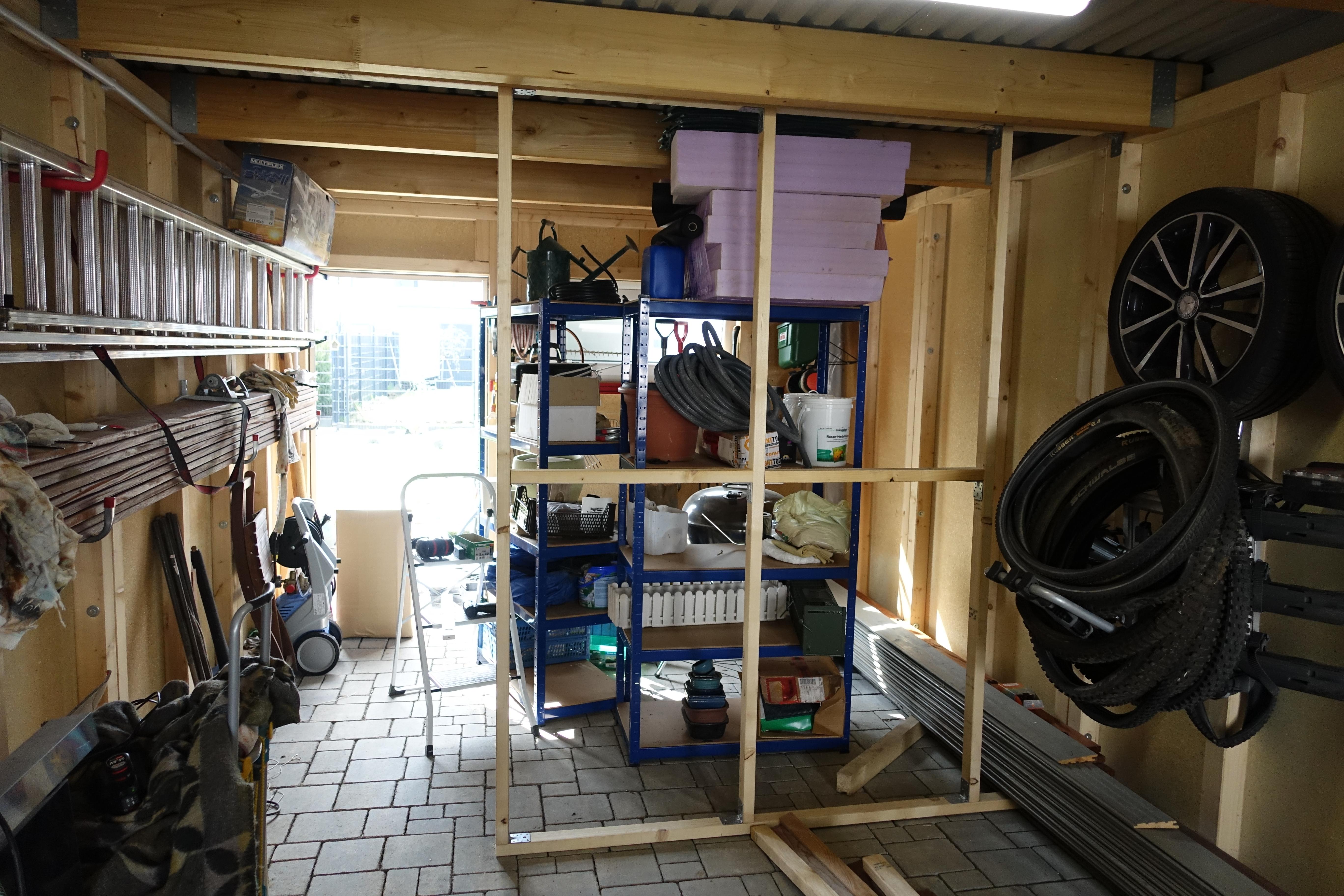 zwischenwand garage | projekthausbau.de