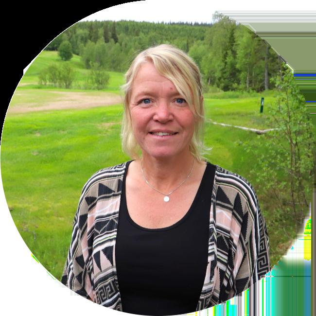 Ambassadör i Projekt Kaxås Bodil Elofsson i Olden