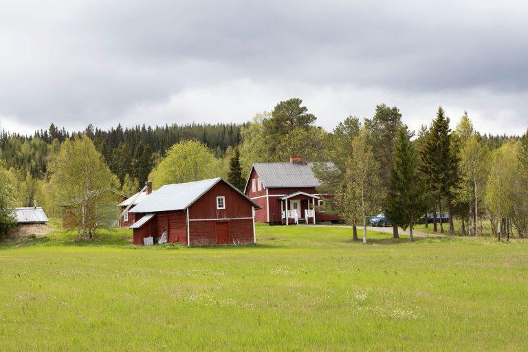 En gård som fått nya ägare.