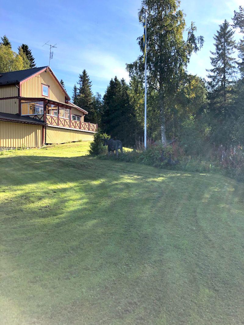 Nyrenoverad villa från 1950-talet till salu i centrala Kaxås