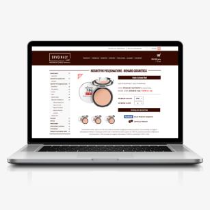 Projekt szaty graficznej strony WWW